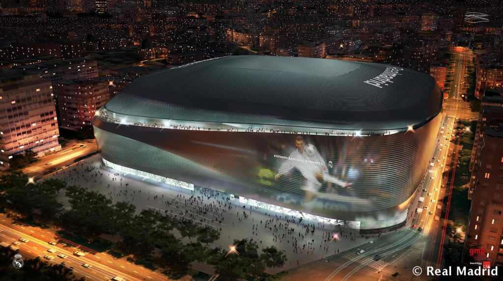 This will be the new and spectacular Santiago Bernabéu. / Photos: Real Madrid