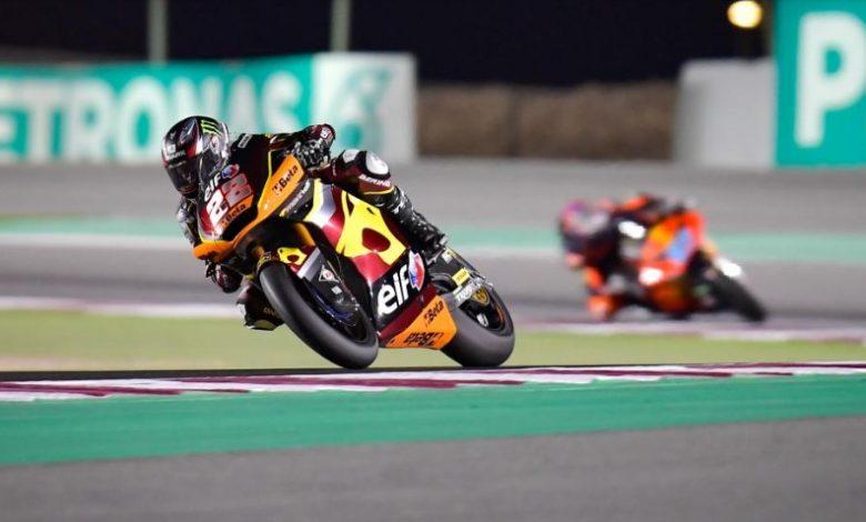 Imagen de una competición de MotoGP