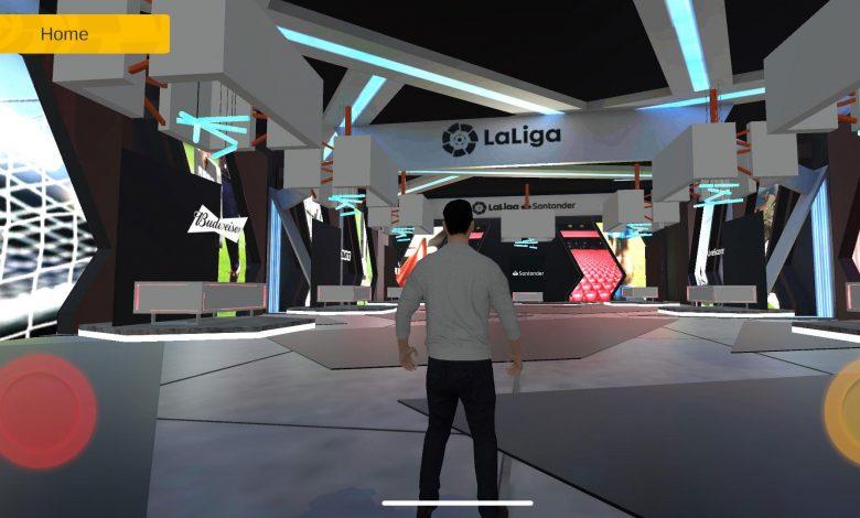 LaLiga eSpace, una experiencia inmersiva para los amantes del fútbol. / LaLiga