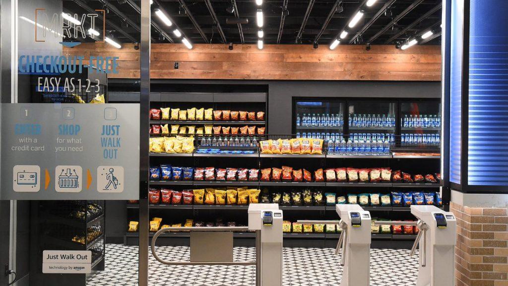 Las tiendas con la tecnología 'Just Walk Out' de Amazon. / Foto: TD Garden