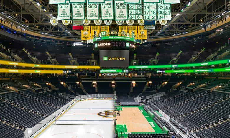 El TD Garden, escenario de los partidos de los Boston Celtis y los Bruins. / Foto: TD Garden