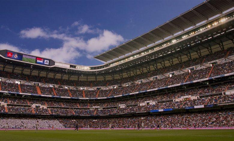 El estadio Santiago Bernabéu. / Foto: Real Madrid CF