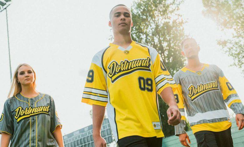 Las equipaciones del Borussia Dortmund también se inspiran en los deportes estrella del mercado de EEUU. / B.D.