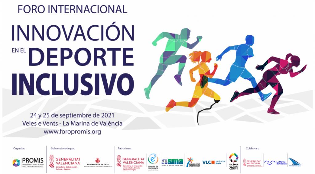 Llega el I Foro Foro de innovación en el deporte inclusivo. / Imagen: PROMIS