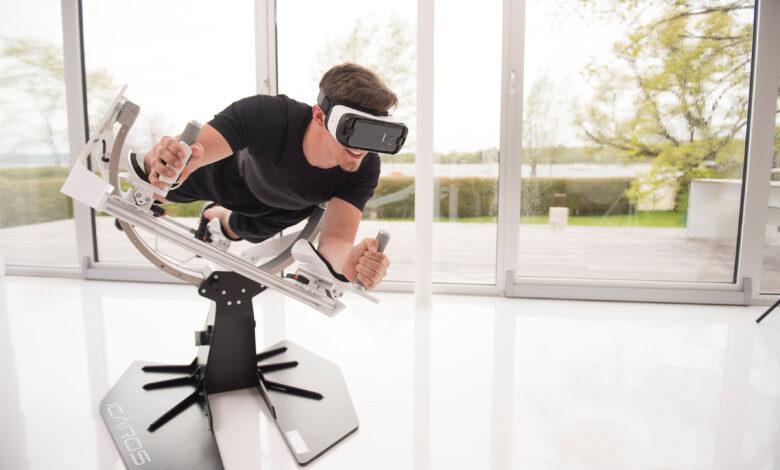 Ícaros, ejercicio físico, realidad virtual y diversión. / Foto: Ícaros