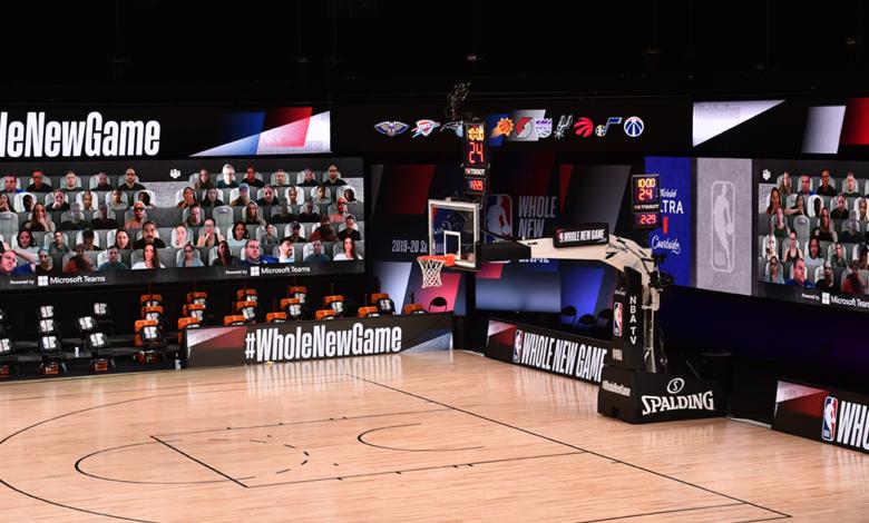 El modo 'Together', una de las novedades en el regreso del mejor baloncesto. / Fotos: NBA