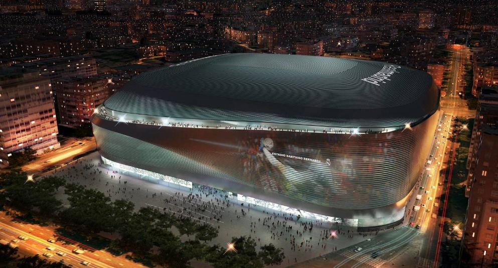 El Santiago Bernabéu, ante una remodelación de enorme calado. / Real Madrid