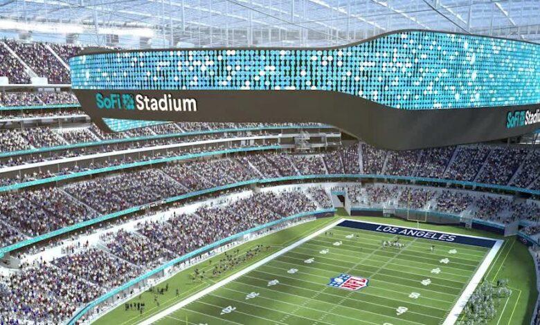 ||El imponente SoFi Stadium