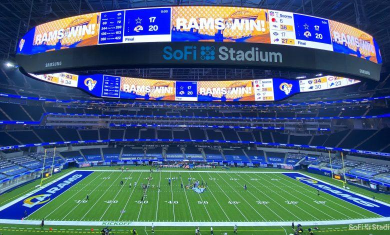 El imponente nuevo estadio de Los Ángeles. Fotos: SoFi Stadium