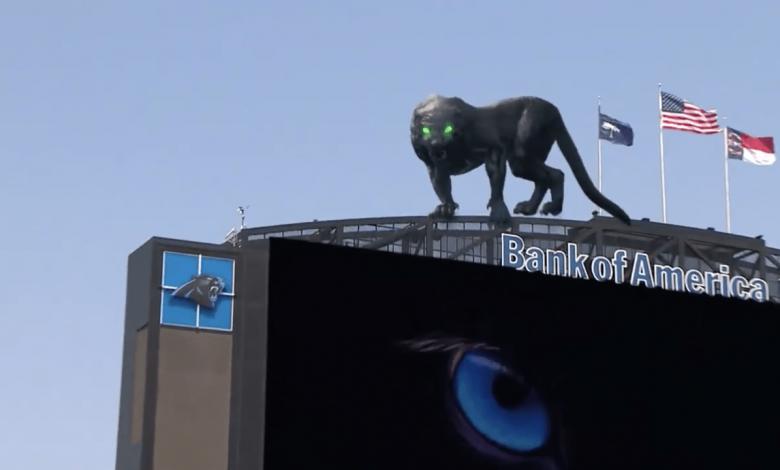 La mascota de Los Panthers cobró vida